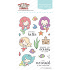 LITTLE MERMAIDS Stamps Dies Set The Greeting Farm Stamping Mini Anya Mermaid