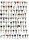 100 Heavy Construction Equipment Ignition Keys Set CAT Case Deere Kubota JCB