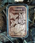 7th Copper Wedding Anniversary Butterfly Flower bar