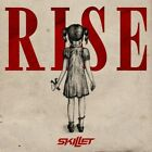 SKILLET Rise 2013 CD USA Seller SICK OF IT American Noise w/ PRINTED LYRICS