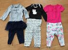 Carters Lot Of 3 Baby Girl Outfits Shirt Pants Tutu Size 6 Months