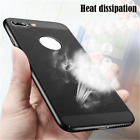 Heat Dissipation Ultra Thin Matte Hard Back Case Cover For iPhone 5 6 6s 7 Plus