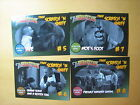 2017 RRPARKS THE 3 THREE STOOGES THEATRE SCRATCH 'N SNIFF SET 4 CARDS 5-8 L@@@K