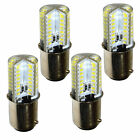 4-Pack HQRP 110V 3W BA15d Base LED Light Bulb for Kenmore Series Sewing Machines