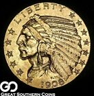 1908 Half Eagle, $5 Gold Indian ** Free Shipping!