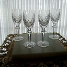 FOUR VINTAGE WATERFORD CRYSTAL POWERSCOURT SHERRYS FROM IRELAND!