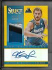 13-14 PANINI SELECT TOP SELECTIONS GODL AUTOGRAPH PATCH KEVIN LOVE AUTO 2 10 4CL