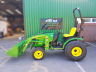 John Deere 2520 Compact Tractor 4WD with 200CX Loader