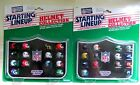 1989 Kenner Starting Lineup Football Helmet Collection NFC & AFC - Mint Unopened