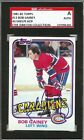 Bob Gainey Autographed Signed 1981-82 Topps Card Montreal Canadiens SGC