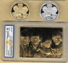 THE BEATLES Gold Card For Sale John Lennon Liverpool Gold & Silver Coins