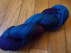 HAND PAINTED DYED SOCK YARN 90 WOOL 10 NYLON ERIC 1 SPIDER GODDESS LK