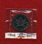 1989 ~ CANADA ~ 1oz .9999 ~ SILVER MAPLE LEAF ~ NATURAL TONING IN MINT PLASTIC