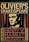 Oliviers Shakespeare DVD 2006 Criterion Collection SEALED OOP