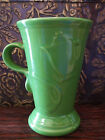 Fiesta Cappuccino Coffee Mug Discontinued Green EUC