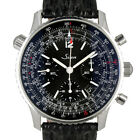 Sinn 903 Chronograph Black Dial Stainless Steel Swiss Automatic Watch on Strap