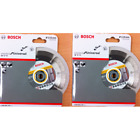 Bosch 061599749W 115mm Diamond Blade Twin Pack 22.23 Bore