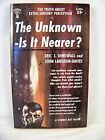 THE UNKNOWN IS IT NEARER ESP DINGWALL SIGNET KS336 1956 FIRST EDITION SCI FI NOS