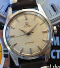 Vintage Omega Seamaster RARE BIG LOGO Present. Watch Automatic Runs Looks Great!