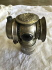 Antique Solar Carbide Bicycle Bike Lamp Badger Brass Mfg Co Steampunk Rat Rod