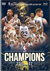 GOLDEN STATE WARRIORS 2017 NBA CHAMPIONS New Sealed Blu ray + DVD