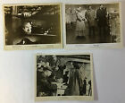 1949 THE 3RD MAN vintage movie 8x10 photos lot of 3 ORSON WELLES