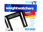 Weight Watchers Glass Body Fat Scale Clear