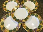 CORNING corelle TUSCAN VINE pattern Luncheon Plate - Set of Five (5) - 8-1/2