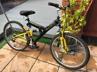 Emmelle Ascent Mountain Bike Black and Yellow