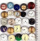Lot of 25 MEN WATCHES with DIALS Vintage Movements Steampunk Art parts repair