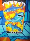 SHARK BEACH TOWEL NWT 28 x 58 JAWS MAKO HAMMERHEAD TEETH OCEAN BATH POOL SPA