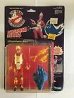 1986 THE REAL GHOSTBUSTERS SCREAMING HEROES EGON SPENGLER ACTION FIGURE W CARD