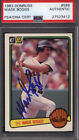 1983 Donruss #586 Wade Boggs Rookie HOF Signed Auto Autographed Card PSA DNA *51