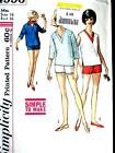 NEW FAB VTG 50s SEXY SHORT SHORTS  TOPS Misses Sewing Pattern 4996 16