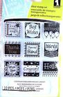 All Occasions Inchie Clear Acrylic Stamp Set by Inkadinkado 60 30163