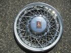 One 1980 to 1984 Oldsmobile Delta 88 15 inch wire spoke hubcap wheel cover