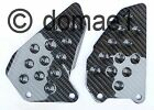 Honda VTR1000 SP1 SC45 / SP2 RC51 carbon fiber heel guards plates 2000-2006