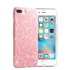 iPhone X 8 8 Plus Pink Glitter Bling Cute Protective Slim Case Cover Rose Gold