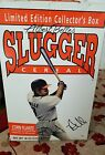 albert belle autographed slugger cereal corn flake box