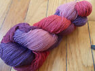 HAND PAINTED DYED SOCK YARN 90 WOOL 10 NYLON BOLD MAMA 8 SPIDER GODDESS