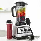 6 Pc All-In-One High-Speed Blender Set- Includes: 2L Jug, Tamper, Silicone Lid