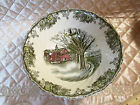 JOHNSON BROTHERS the FRIENDLY VILLAGE ROUND VEGETABLE BOWL 8 1/4  made England