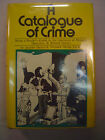 Jacques Barzun  Wendell Hertig Taylor A CATALOG OF CRIME First edition 1971