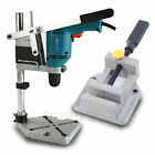 DRILL PRESS VICE+PLUNGE POWER DRILLING STAND BENCH PILLAR PEDESTAL CLAMP