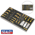 1x 18 Piece Sealey Tool Tray With Hook & Scraper Set - S01136