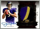 Joe Flacco 2008 Exquisite Collection AUTO 3-COLOR JERSEY PATCH RC - 41 99