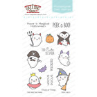 PEEK A BOO The Greeting Farm Clear Stamp Stamping Craft Halloween Ghosts Costume
