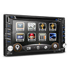 "6.2"" Doppel Din HD Touch Screen stereo GPS DVD usb sd Player + Bildschirm"