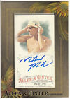 2016 Topps Allen & Ginter Michael Phelps SP Framed Mini On Card Autograph