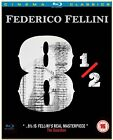 Federico Fellini 8 1 2 Blu ray NEW  SEALED